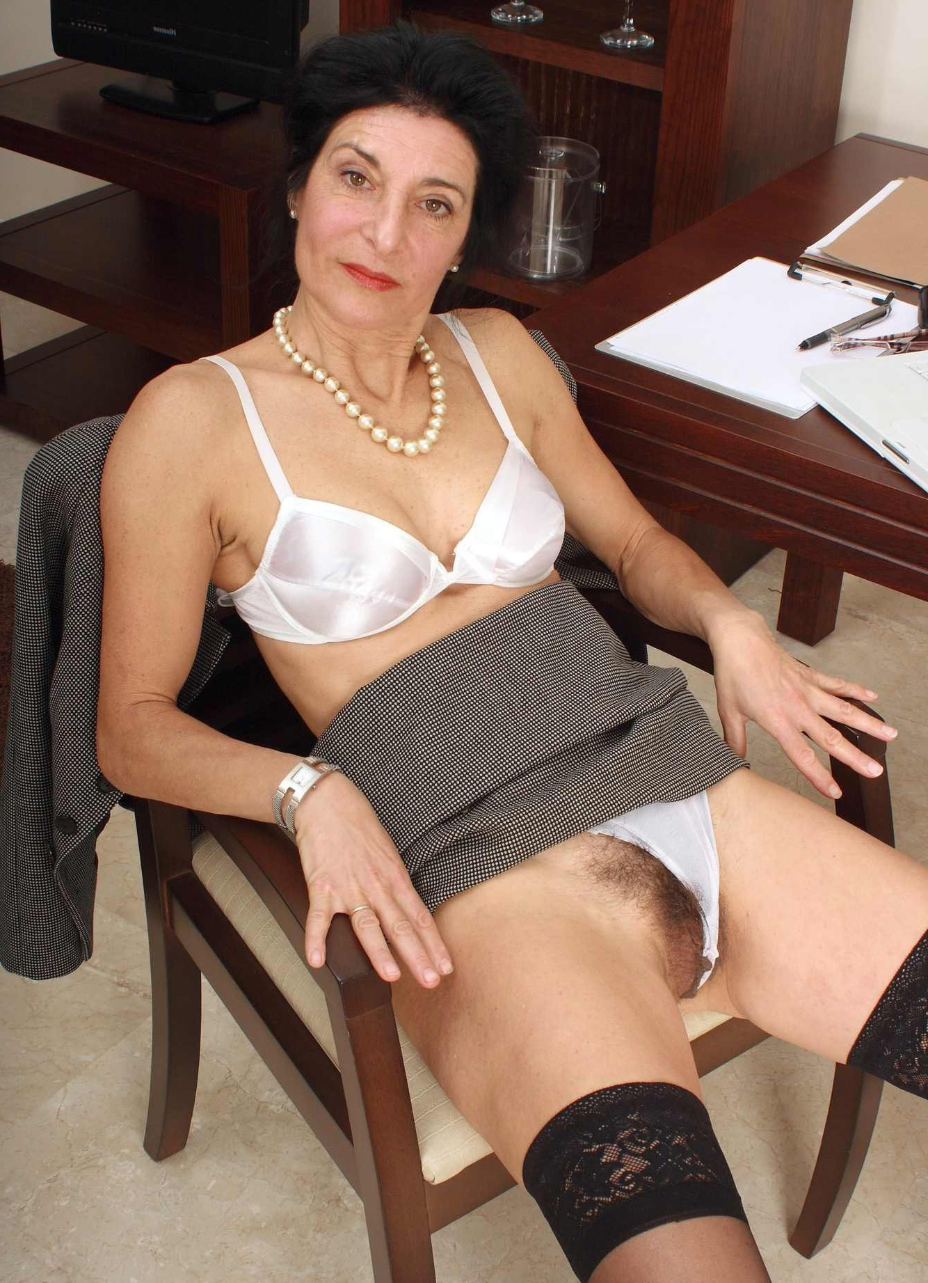 Pictures of hairy mature women